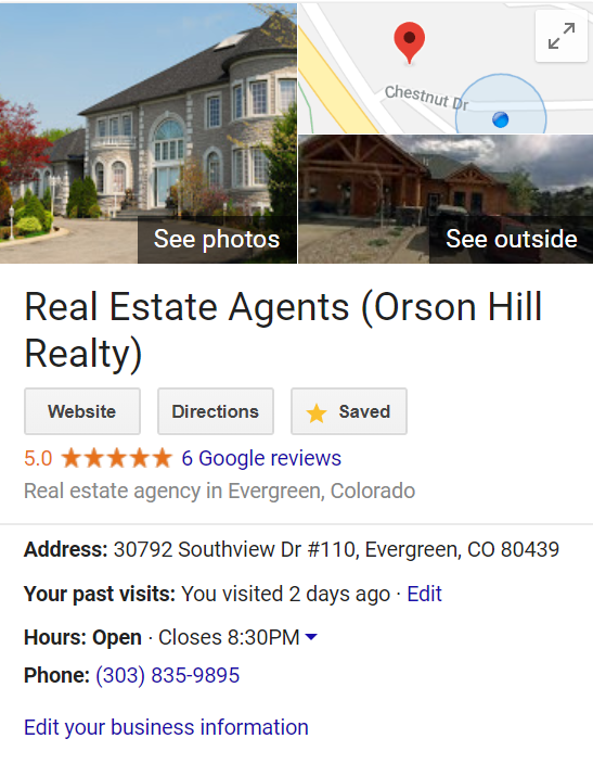 Orson Hill Realty Reviews