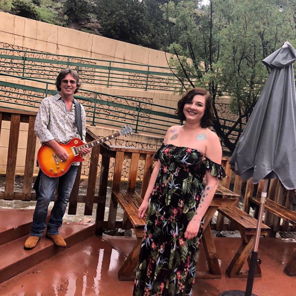 Shon and Veronica at Blackbird Cafe