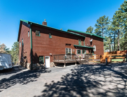 Log Cabin Home for Sale Conifer, CO