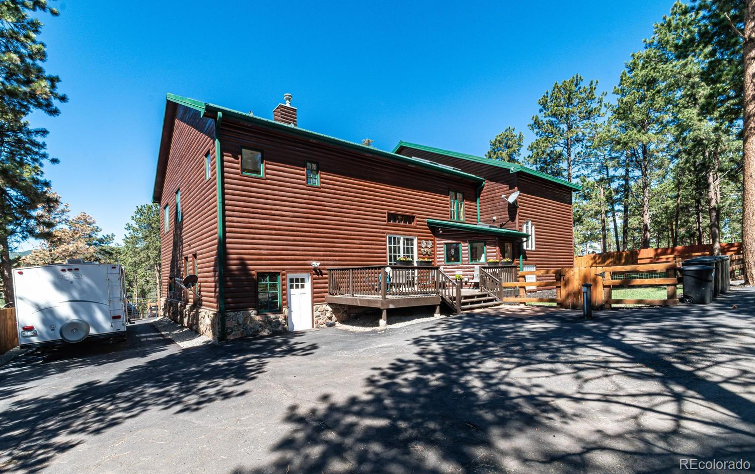 Log Cabin Home for Sale Conifer