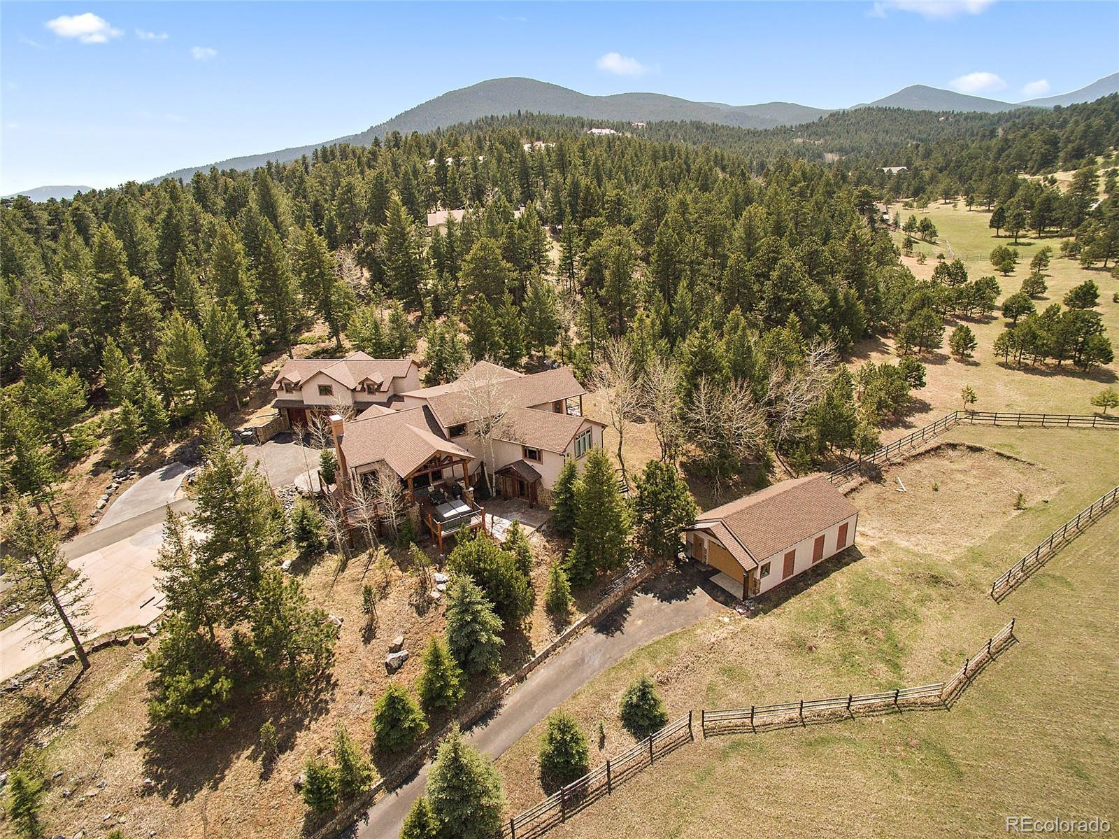 32382 Meadow Mountain Road, Evergreen, CO