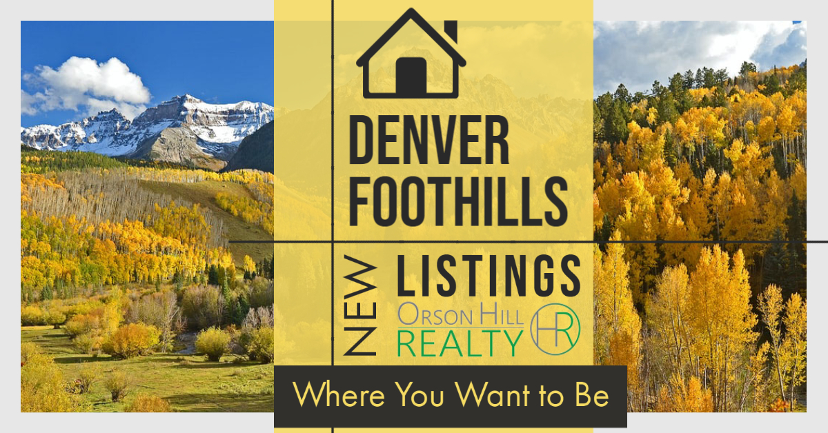 Denver Foothills New Listings