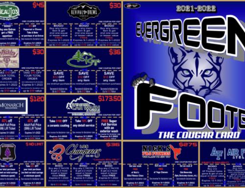 Evergreen Cougar Cards – Evergreen HS Football