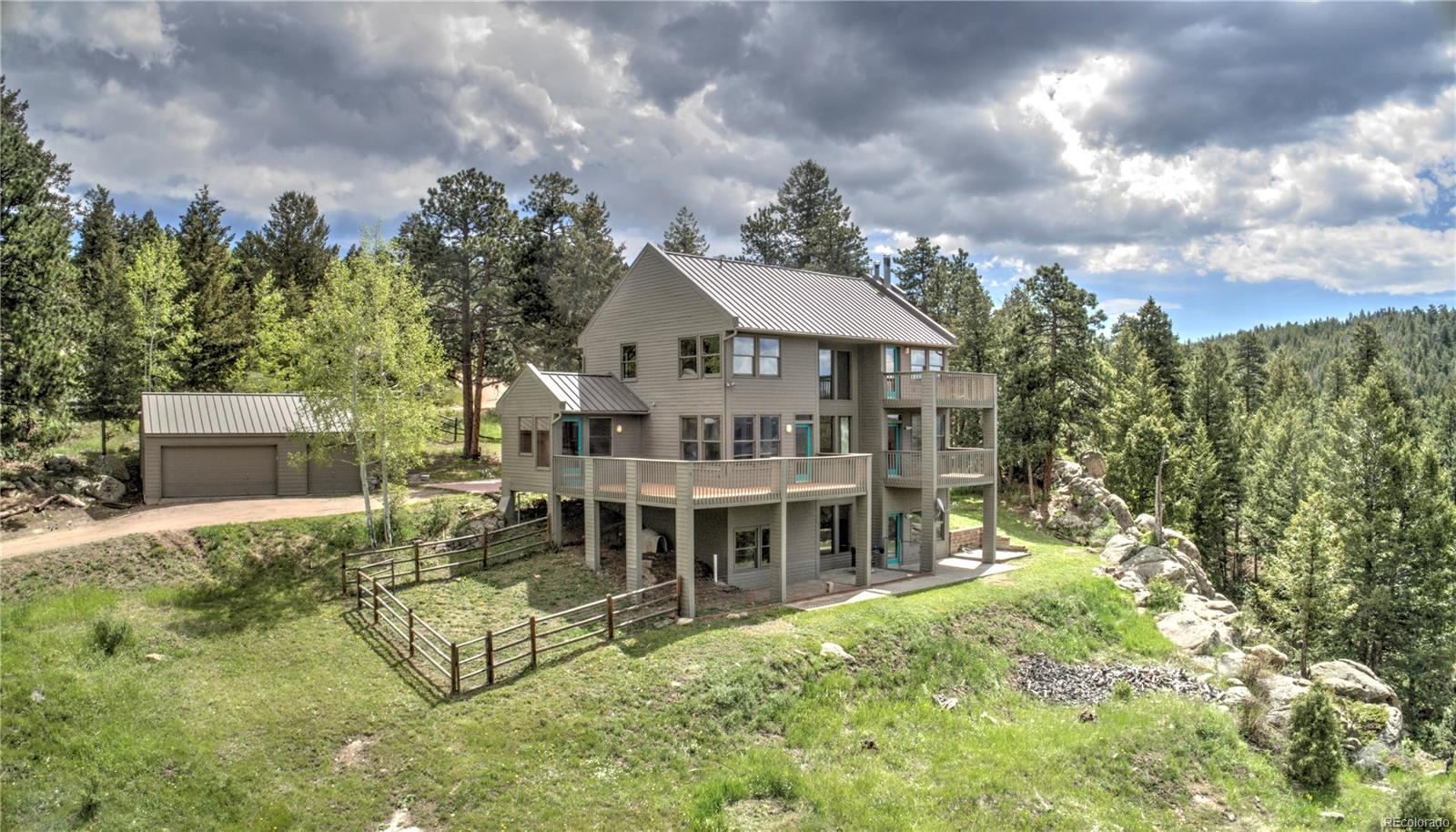 26741 Hilltop Road, Evergreen, CO
